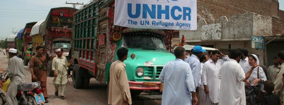 Vluchtelingen in Pakistan